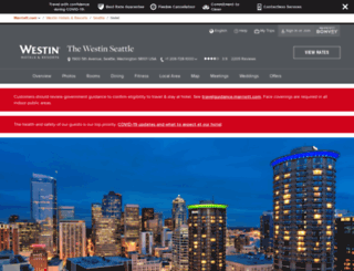 westinseattle.com screenshot