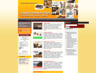 westjava-export.com screenshot