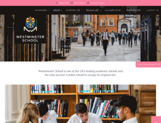 westminster.org.uk screenshot