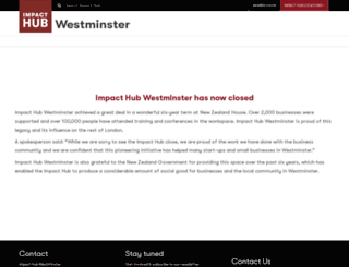 westminster.the-hub.net screenshot