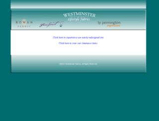 westminsterfabrics.com screenshot