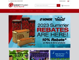 westmusic.com screenshot