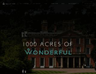 weston-park.com screenshot