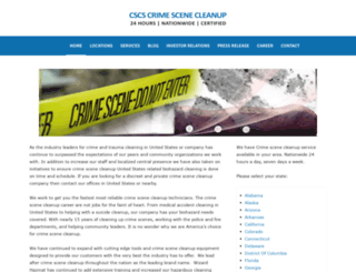 weston-texas.crimescenecleanupservices.com screenshot