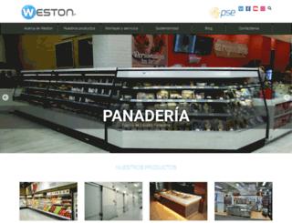 weston.com.co screenshot