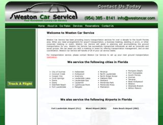 westoncar.com screenshot
