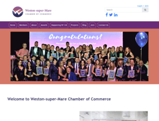 westonchamber.org.uk screenshot