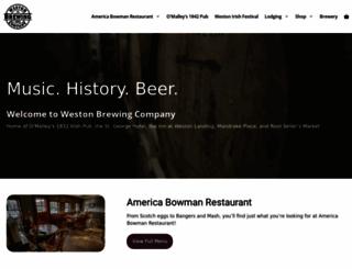 westonirish.com screenshot