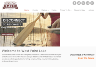 westpointlake.com screenshot