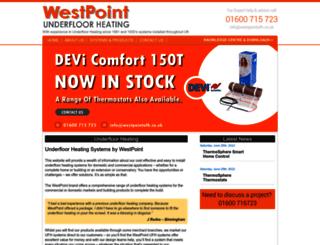 westpointufh.co.uk screenshot