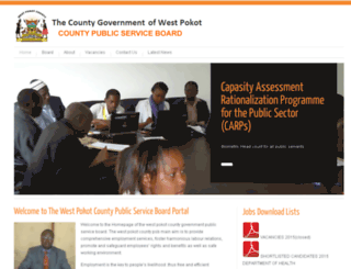 westpokot-cpsb.org screenshot