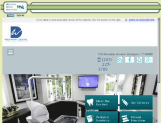 westportdental.mydentalvisit.com screenshot
