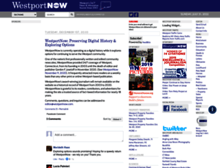 westportnow.com screenshot