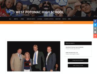 westpotomacsports.org screenshot