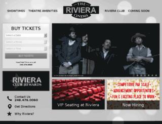 westriver.dipsontheatres.com screenshot