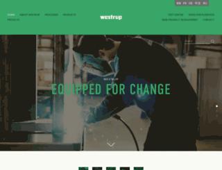 westrup.com screenshot