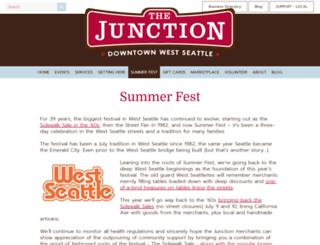 westseattlefestival.com screenshot