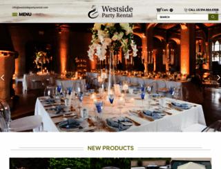 westsidepartyrental.com screenshot