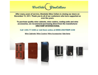 westsidewinecellars.com screenshot