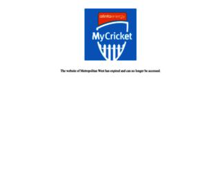 westspirit.cricketvictoria.com.au screenshot