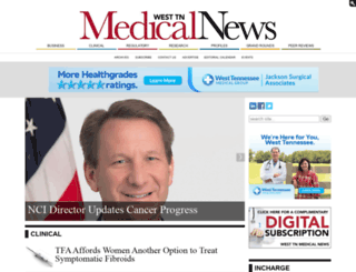 westtnmedicalnews.com screenshot