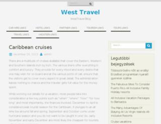 westtravel.hu screenshot
