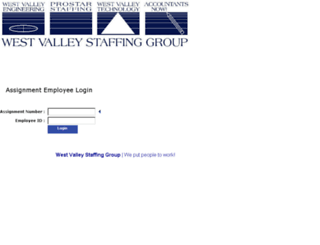 westvalley.connecttime.connecthr.com screenshot