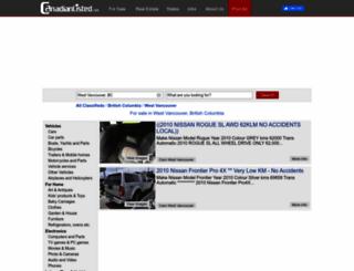 westvancouver.canadianlisted.com screenshot