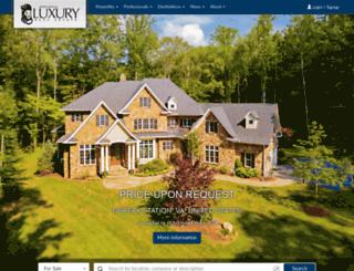 westventurerealestate.luxuryrealestate.com screenshot