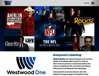 westwoodone.com screenshot