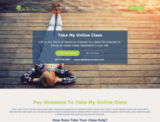 wetakeyourclass.com screenshot