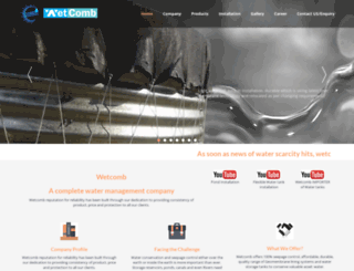 wetcomb.com screenshot