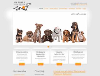 weterynarz-homeopata.pl screenshot
