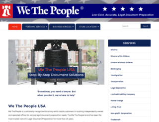 wethepeopleusa.com screenshot