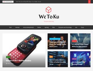 wetoku.com screenshot