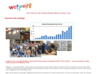 wetpaint.applicantpro.com screenshot