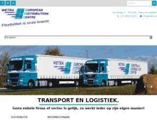 wetra-edc.com screenshot