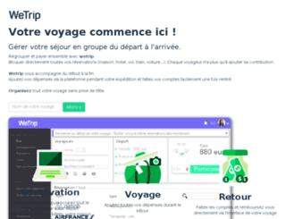 wetrip.fr screenshot
