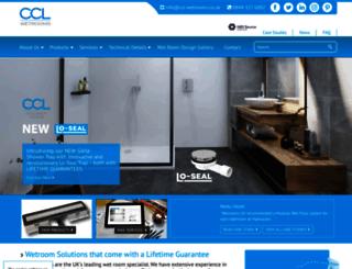wetroom-solutions.co.uk screenshot