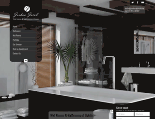 wetroom.ie screenshot