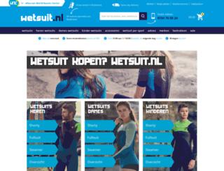 wetsuit.nl screenshot