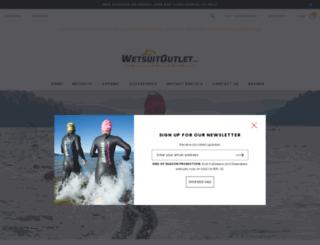wetsuitoutlet.com screenshot