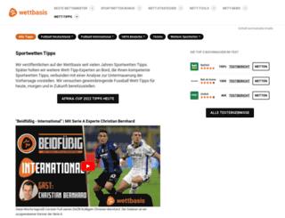 wett.info screenshot