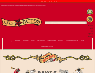 wettattoo.com screenshot