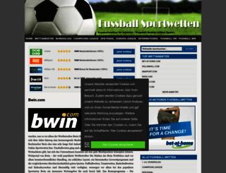 wetten-fussball.info screenshot