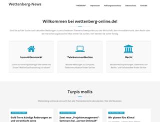 wettenberg-online.de screenshot