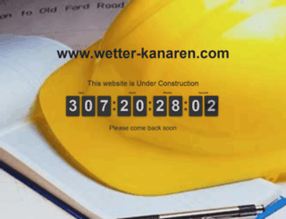 wetter-kanaren.com screenshot