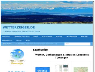 wetterzeiger.com screenshot