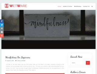 wetware.co.nz screenshot