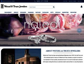 wetzelandtruexjewelers.com screenshot
